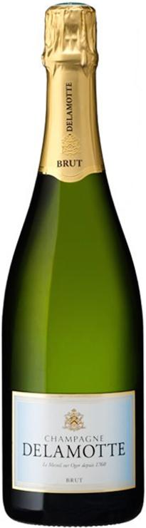 Champagne delamotte brut calais wine for Champagne delamotte