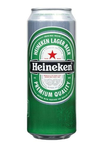 Heineken 24 X 50cl Cans Beer Calais Wine