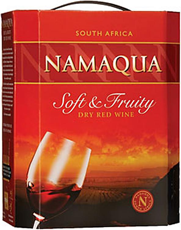 Namaqua Soft Amp Fruity Red 3 Litre Wine Box Red Wine Box