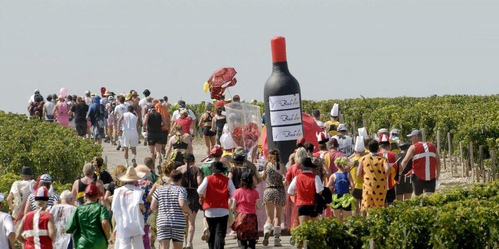 Fancy some Bordeaux Wine with your Marathon?
