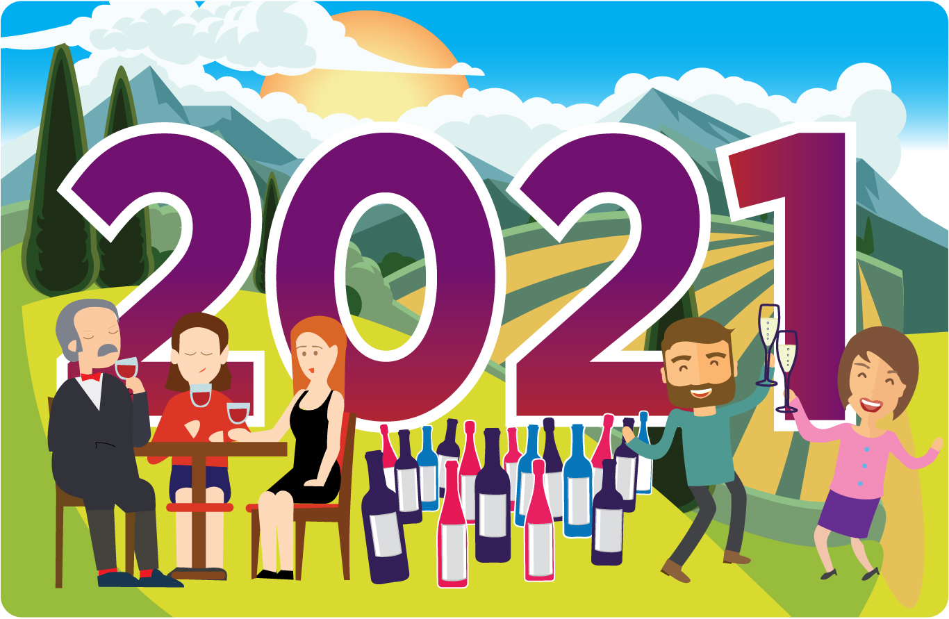 Wine Goals for your New Year's Resolution 2021