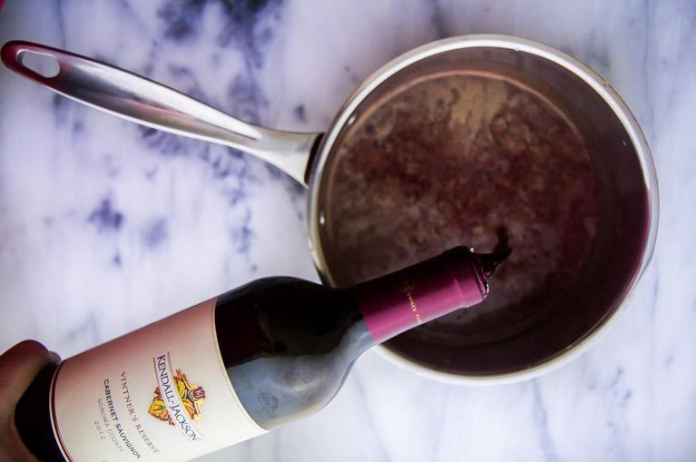 Mmmmm Red Wine Hot Chocolate!