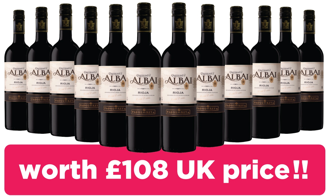 Get 12 bottles of Rioja FREE!