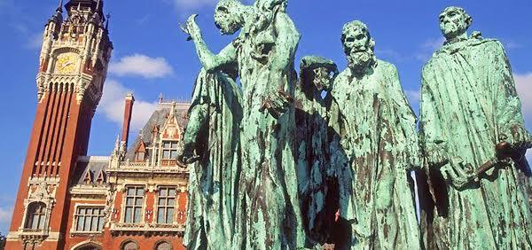 Rodin's Six Burghers